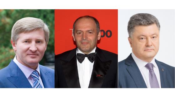 Achmetow Pinczuk i Poroszenko na szczycie listy najbogatszych Ukraińców