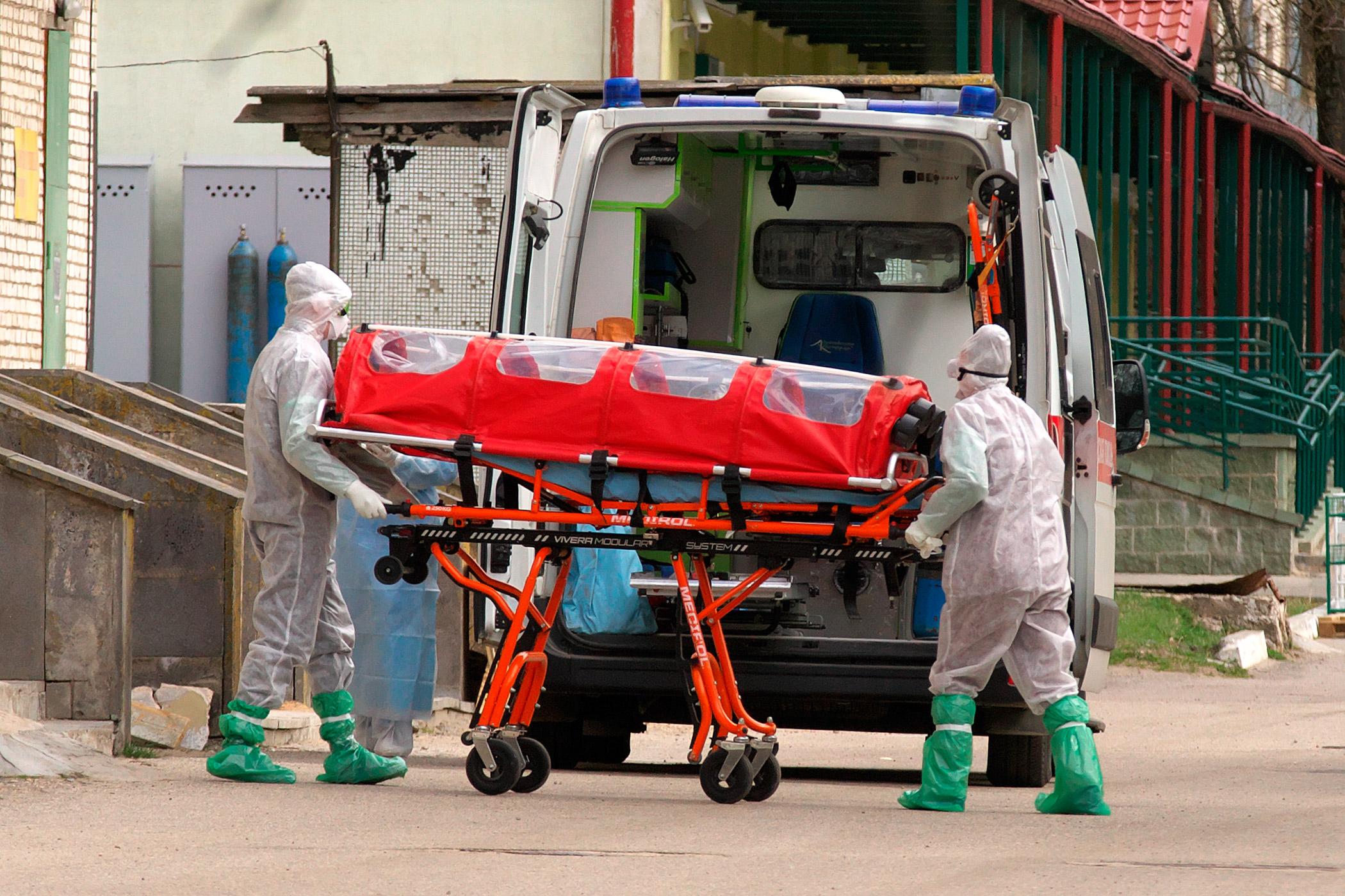 Koronawirus zabił na Białorusi ponad 200 osób