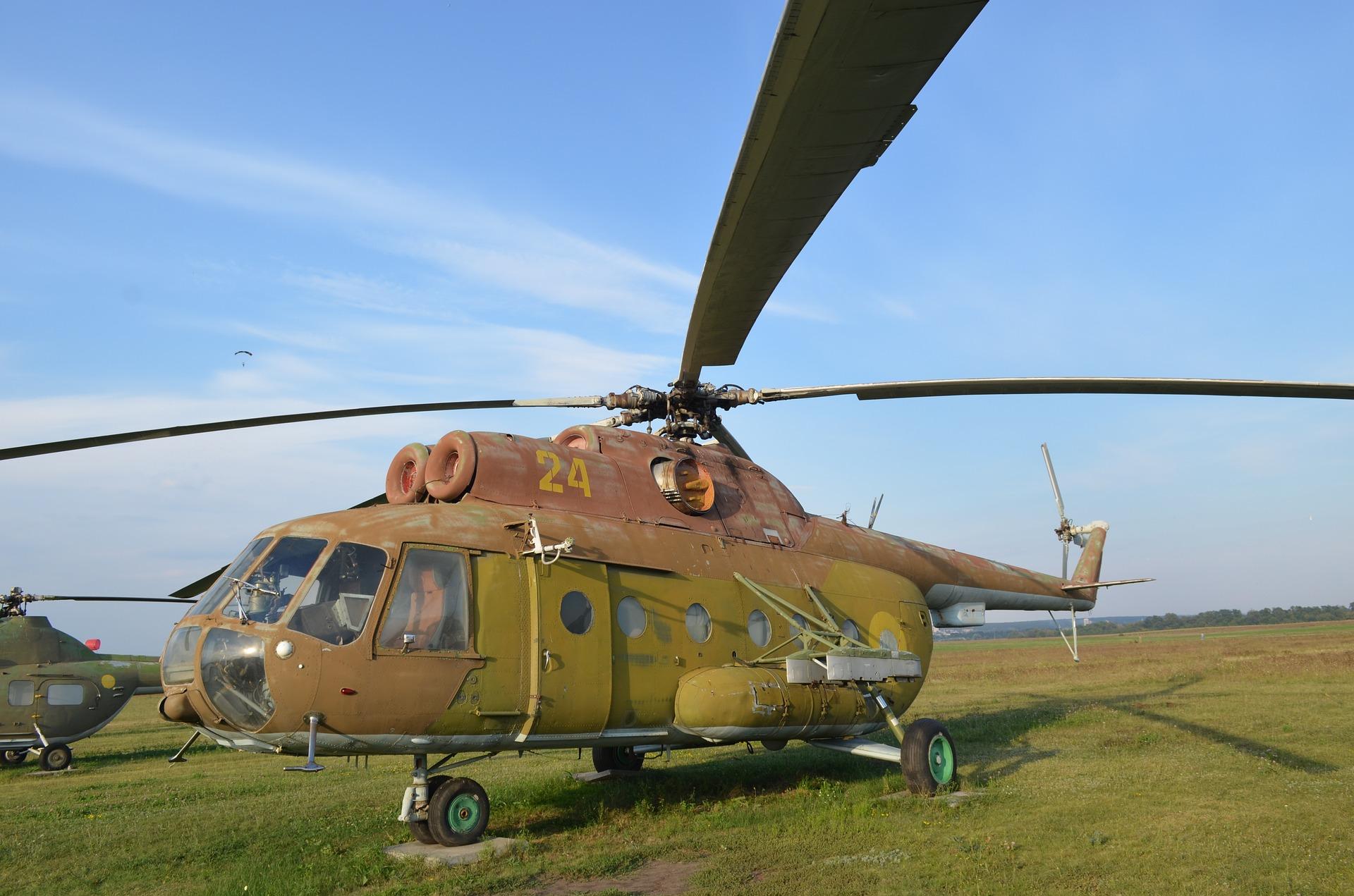 Na Czukotce rozbił się śmigłowiec Mi-8. Kolejna taka katastrofa w Rosji
