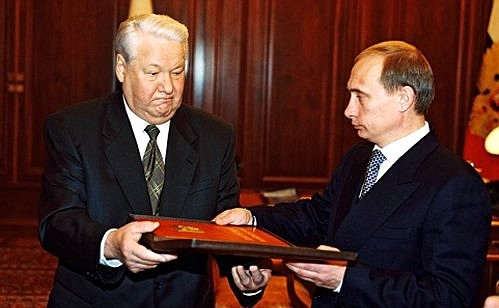 20 lat temu władzę Putin otrzymał władzę z rąk Borysa Jelcyna