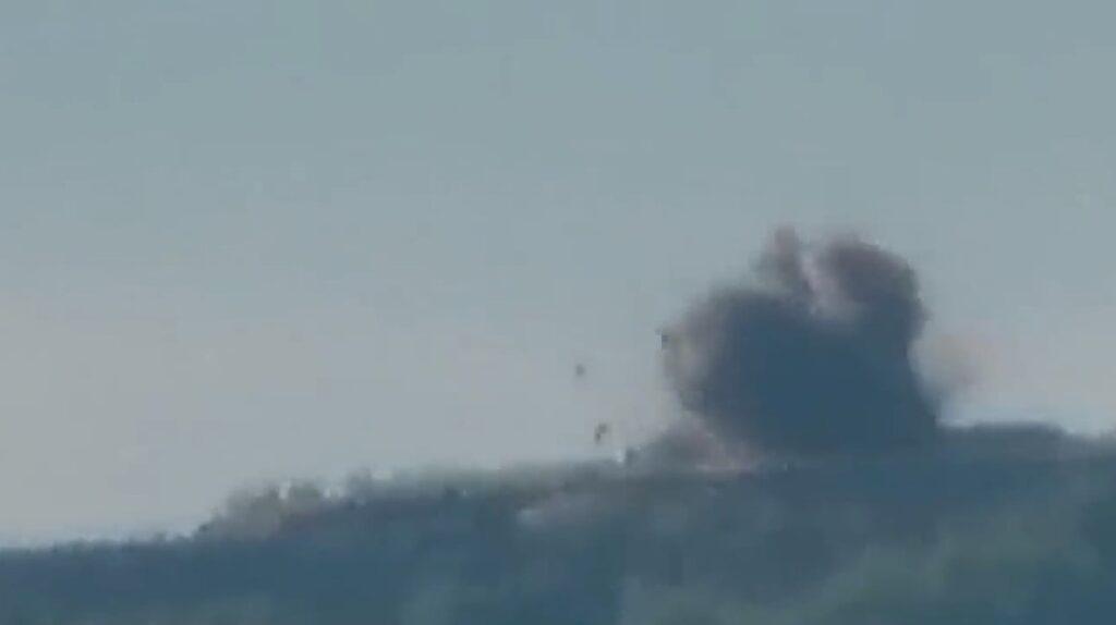 Kadr z nagrania Ministerstwa Obrony Armenii