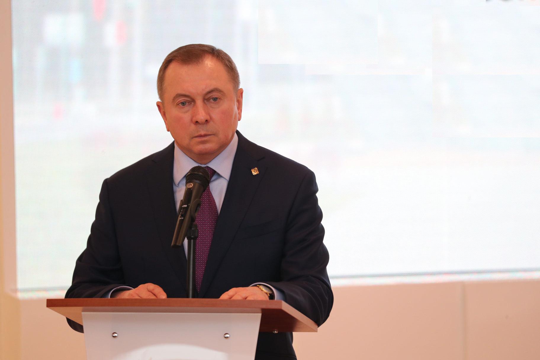 Szef MSZ Białorusi odpowiada na decyzję o sankcjach UE