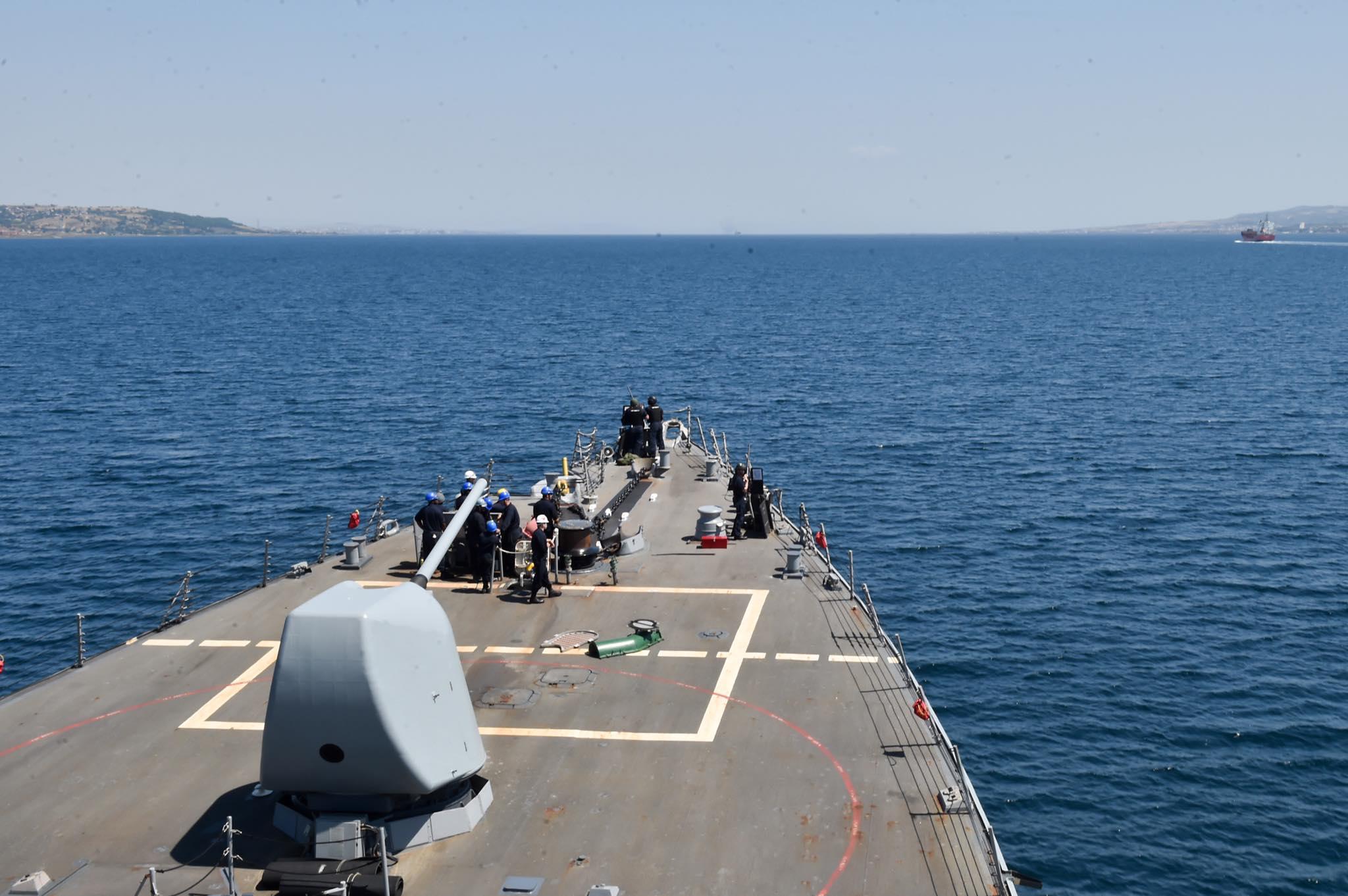 Amerykańska flota odbyła wraz z sojusznikami manewry na Morzu Czarnym