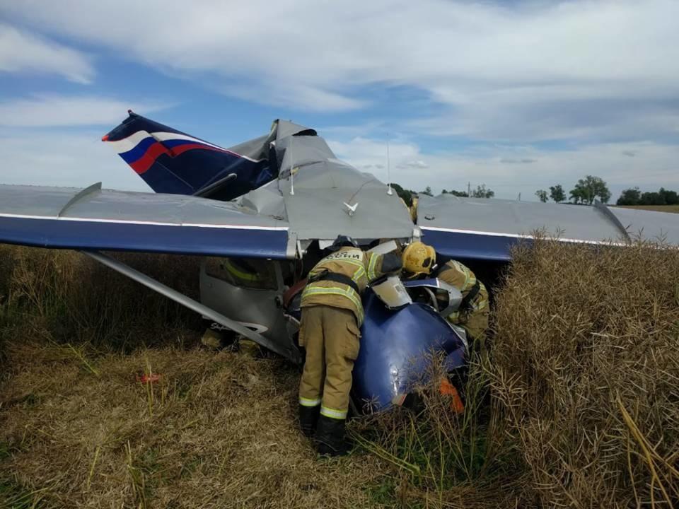 Obwód Kaliningradzki: katastrofa prywatnego samolotu