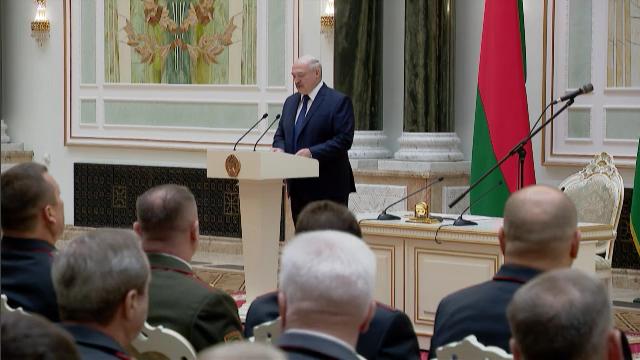 Łukaszenka: Prezydent nigdy nie uciekał i nie ma zamiaru uciekać