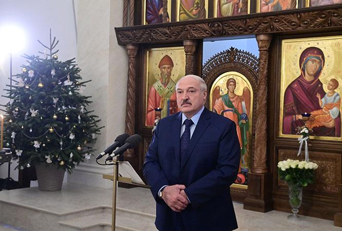 Alaksandr Łukaszenka skomentował szturm Kapitolu