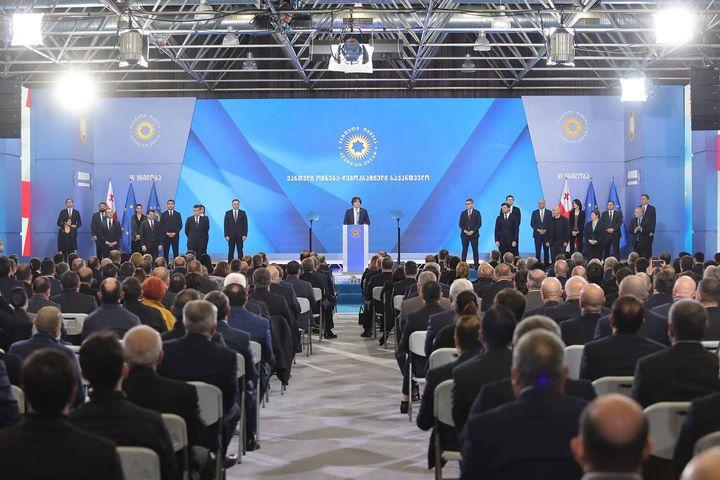 """Zmiany w gruzińskiej partii władzy """"Gruzińskie Marzenie"""""""