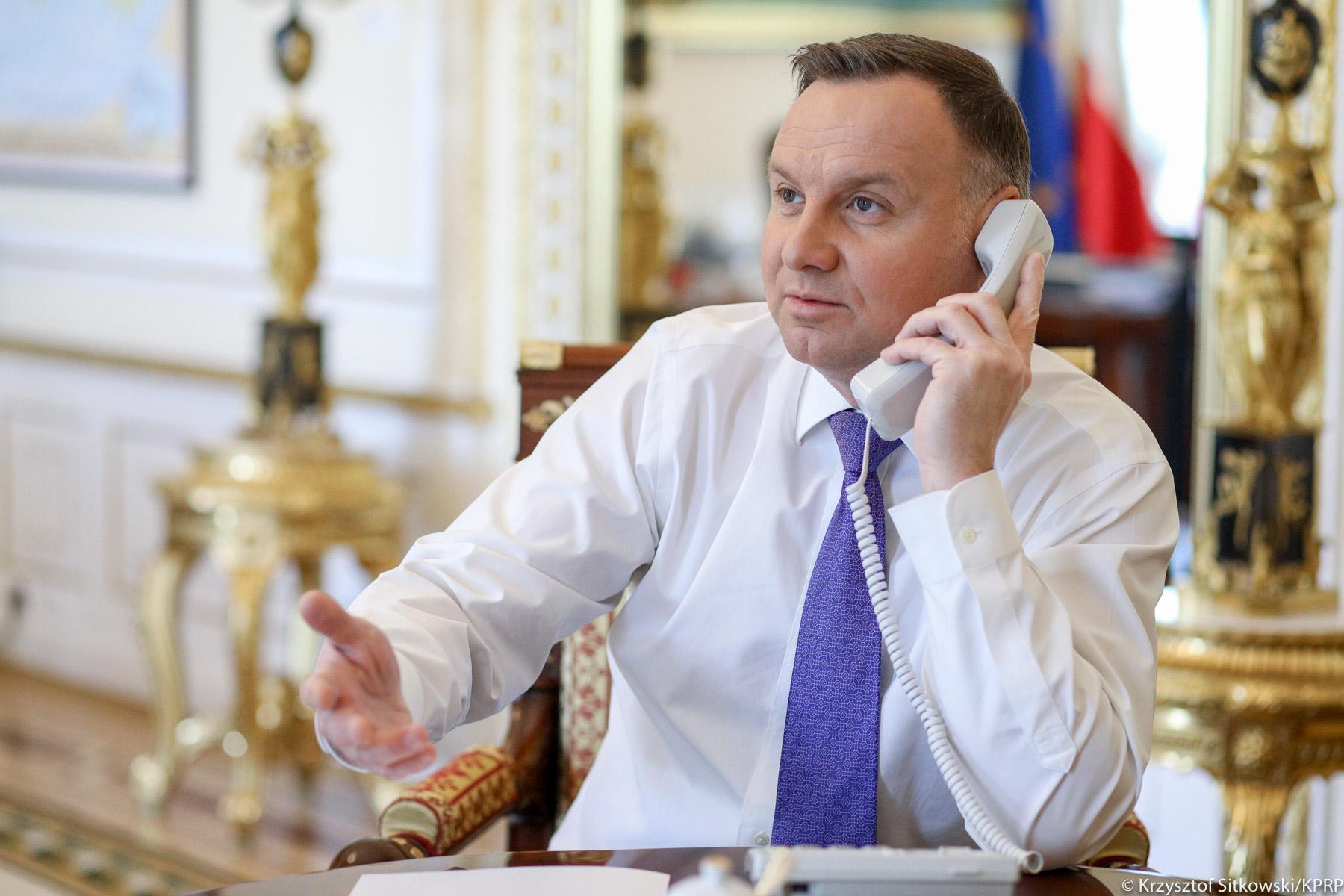 Prezydenci Polski i Ukrainy rozmawiali o Nord Stream 2