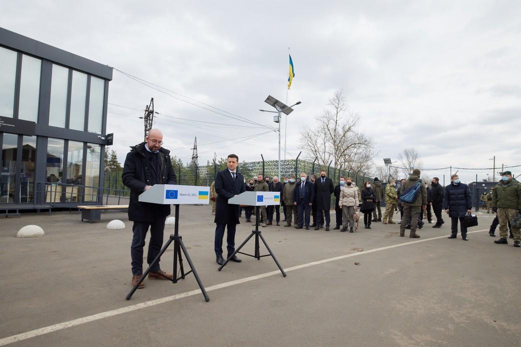 Charles Michel z wizytą w Ukrainie. Szef RE zapowiedział dalszą pomoc i skrytykował działania Rosji
