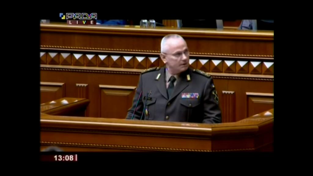 Chomczak siły rosyjskie u granic Ukrainy