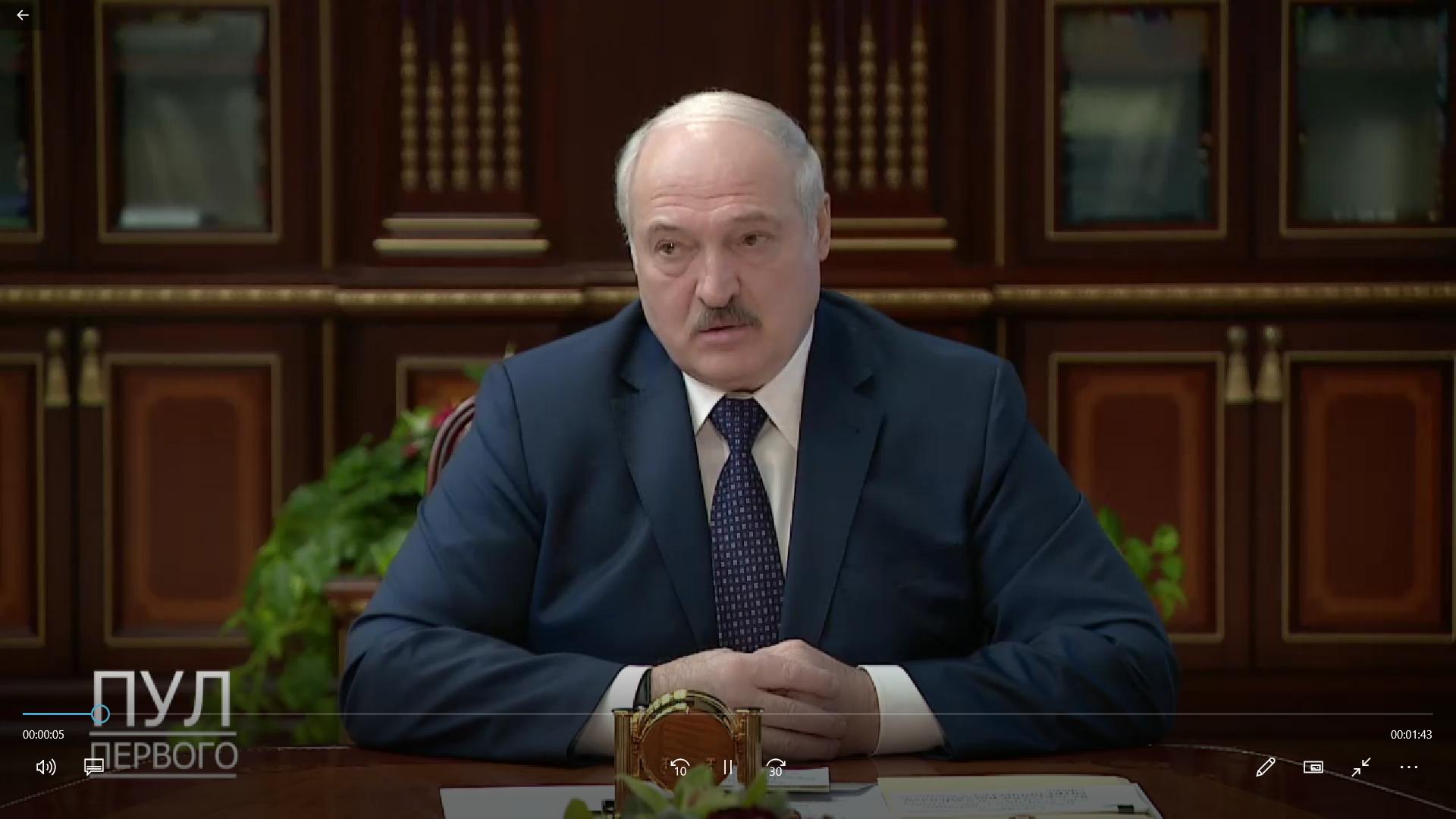 Łukaszenka przedstawił szczegóły spotkania z Putinem