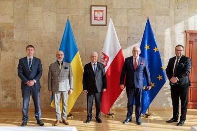 MSZ: Wideokonferencja szefów dyplomacji państw członkowskich UE z udziałem ministra Zbigniewa Raua