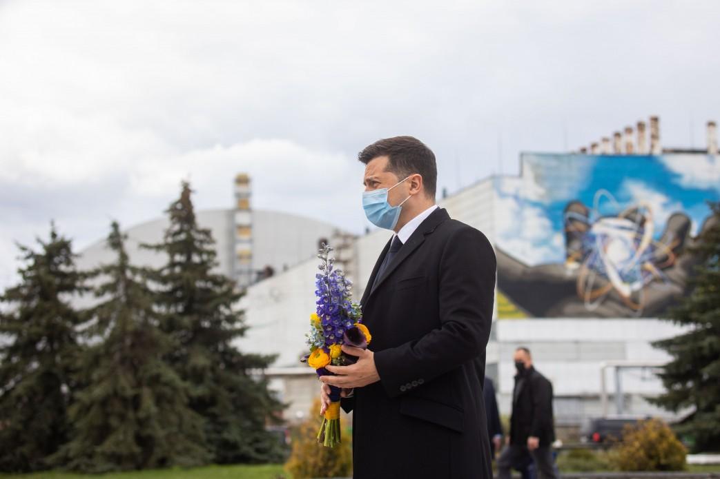 Zełenski: Czarnobyl dziś to wspólne wyzwanie. Mija 35 lat od katastrofy