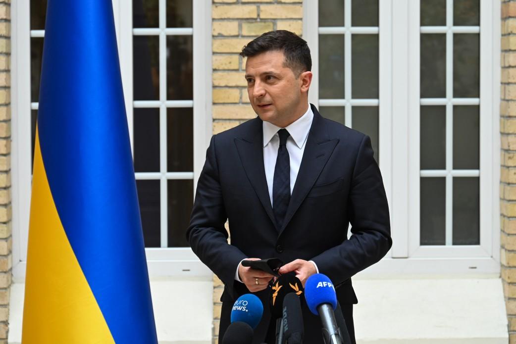Zełenski: Ukraina powinna być członkiem Unii Europejskiej i NATO