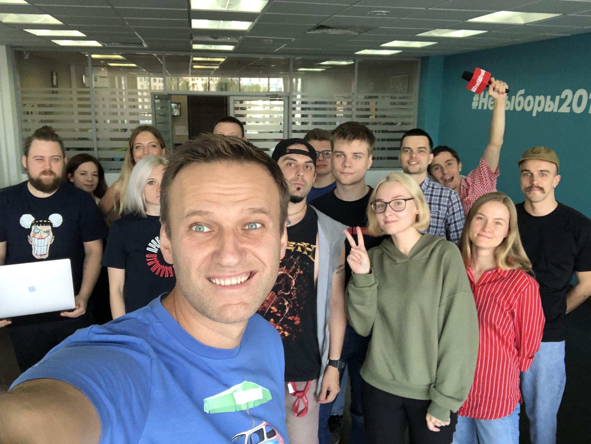 Sąd w Moskwie zawiesił działalność organizacji Nawalnego