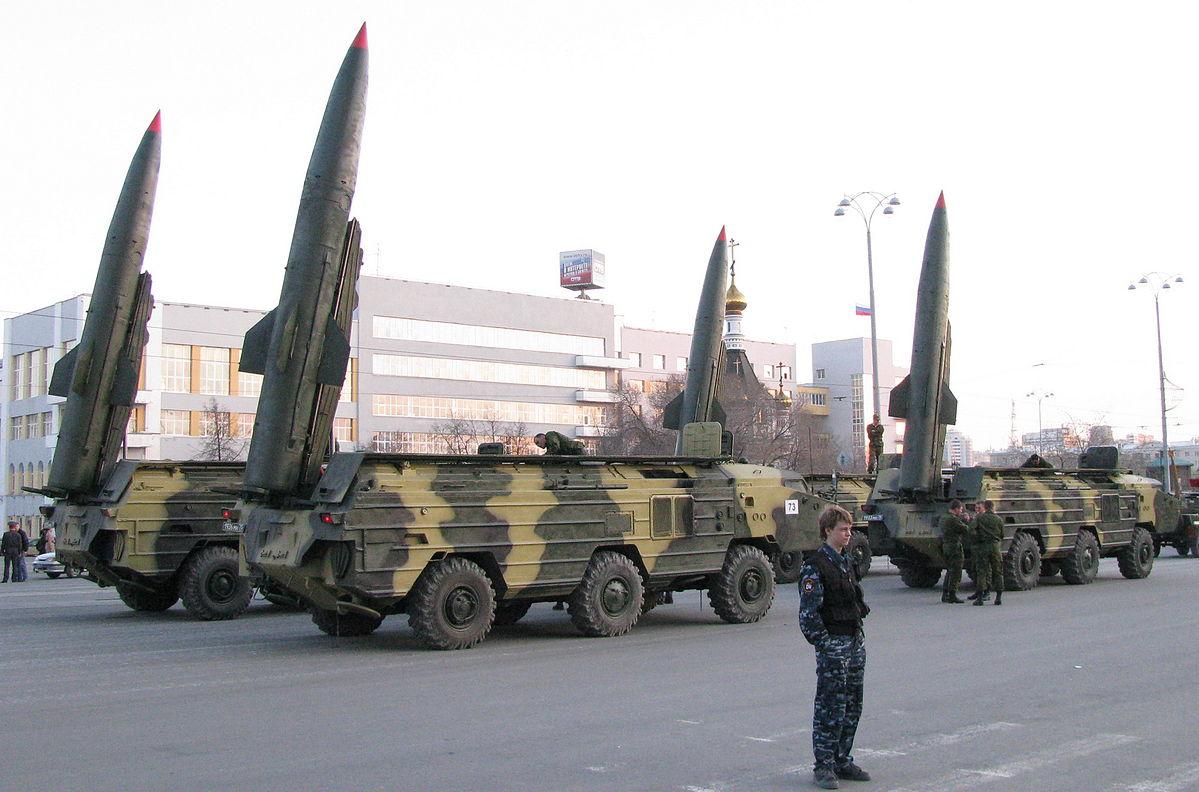 Białoruska wyrzutnia rakiet wjechała w dom. Na szczęście nikomu nic się nie stało