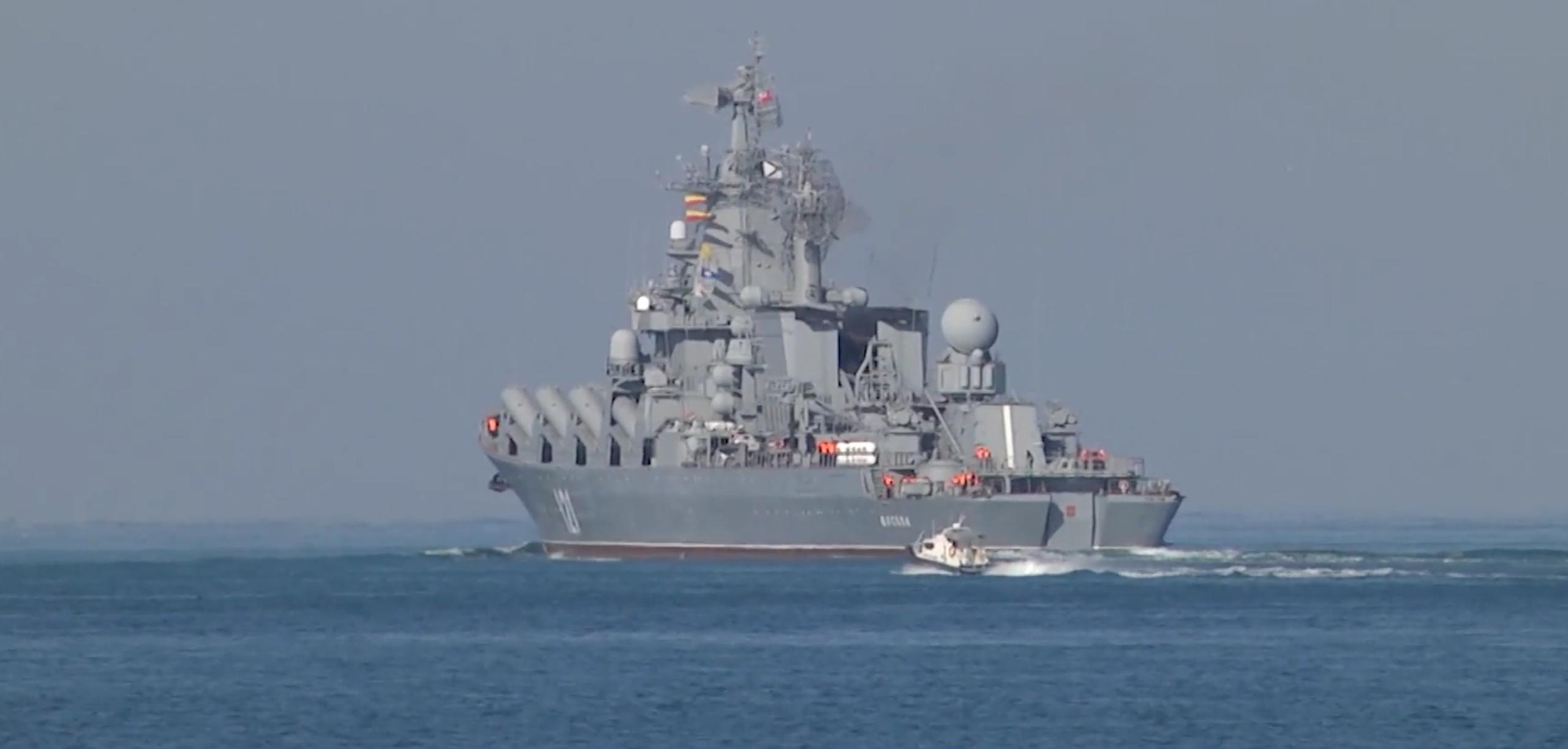 Rosja prowadzi ćwiczenia morskie na Morzu Czarnym