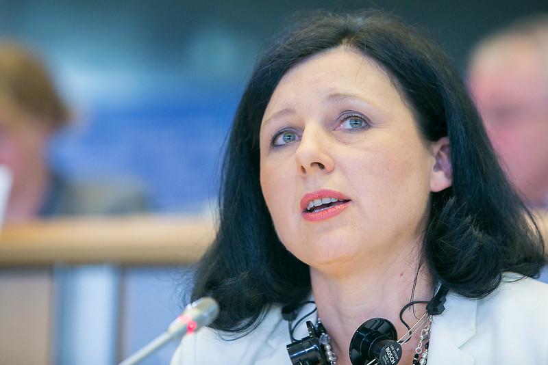 Věra Jourová ostro o polityce Kremla. To jej reakcja na zakaz wjazdu do Rosji