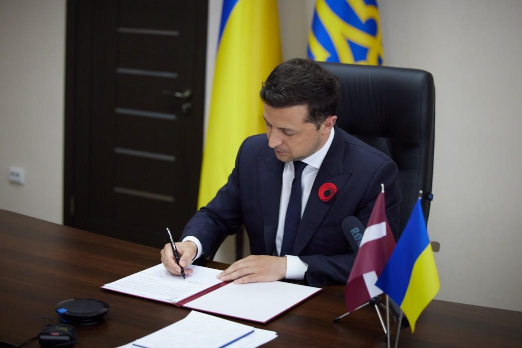 Łotwa śladami Polski i Litwy podpisała z Ukrainą deklarację partnerską