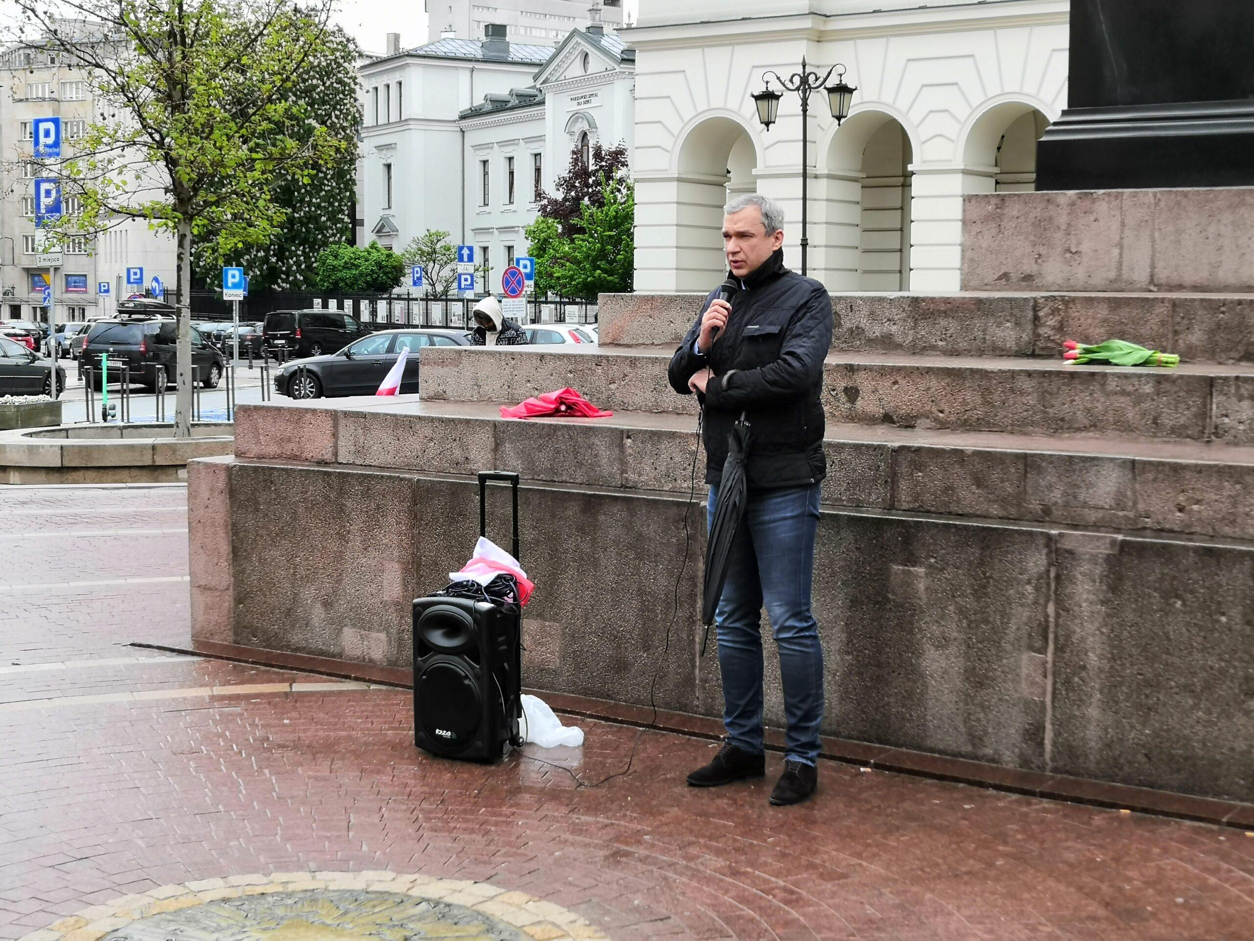 Paweł Łatuszka: Białoruś staje się znów krajem partyzanckim