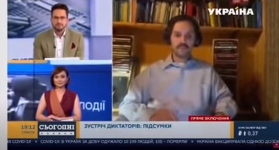 Komiczna wpadka w ukraińskiej telewizji. Widzowie zamiast eksperta zobaczyli… nagą kobietę