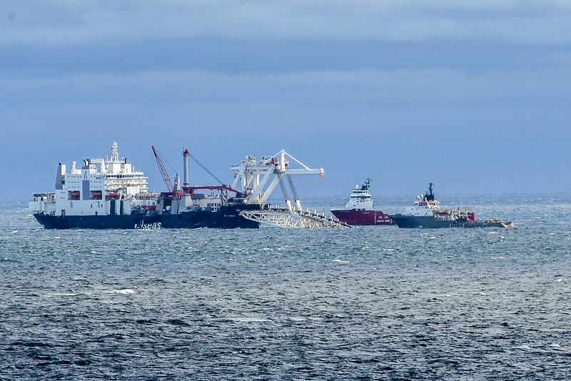 Zakończono układanie pierwszej nitki Nord Stream 2