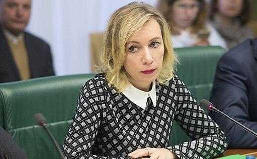 Zacharowa skomentowała apel NATO ws. USA i Czech