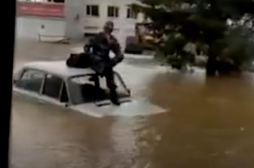Wzrosła liczba rannych po powodzi na Krymie