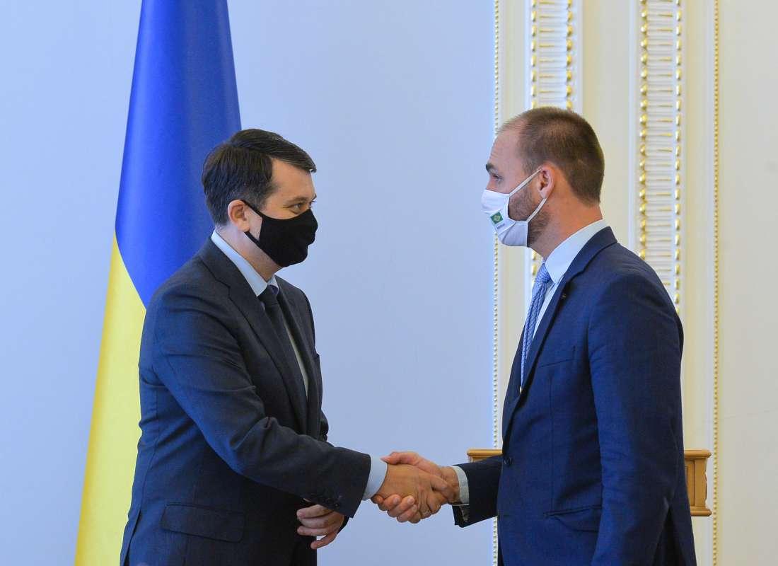 Ukraina i Brazylia dążą do zintensyfikowania dialogu międzyparlamentarnego