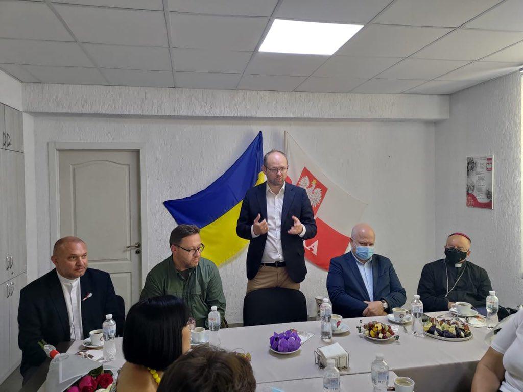 MSZ: Wizyta wiceministra Marcina Przydacza na Ukrainie