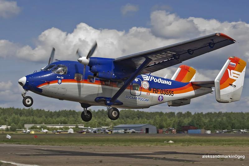 Odnaleziono samolot An-28, który zaginął na Syberii. Jego załoga przeżyła