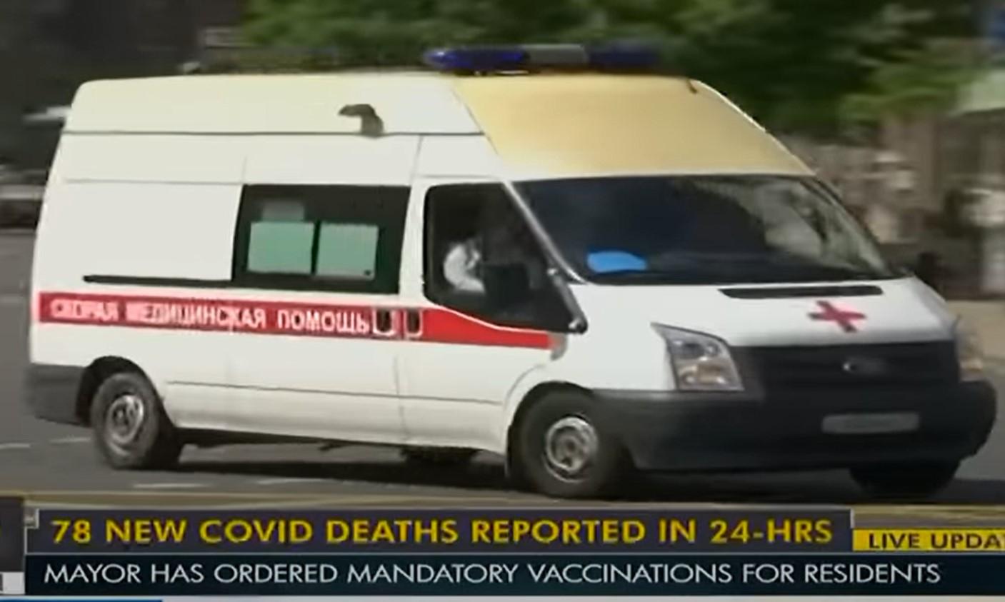 Nieznaczny spadek dobowej liczby nowych zakażonych w Rosji