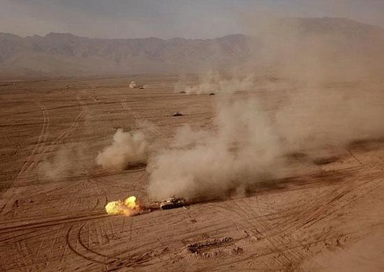 Rosja zorganizuje manewry wojskowe na granicy z Afganistanem