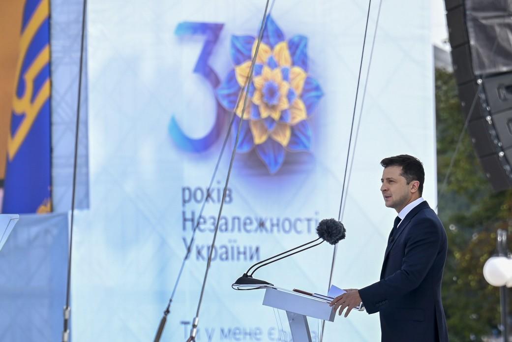 Obchody 30-lecia niepodległości Ukrainy. Zełenski ogłosił nowe święto