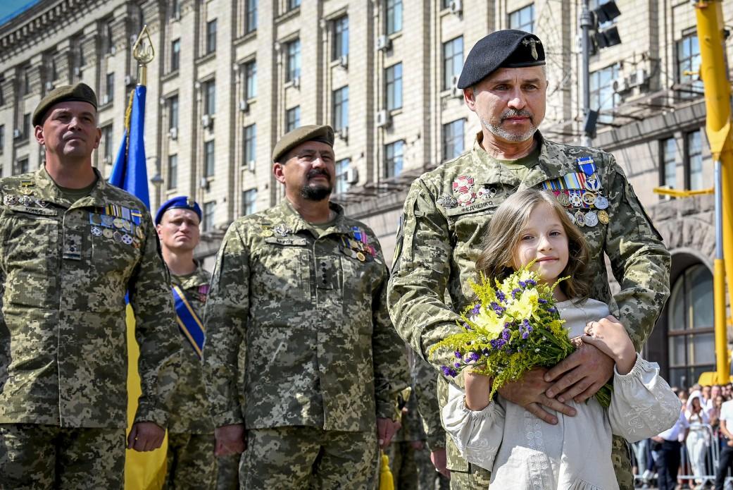 Parada wojskowa w Kijowie z okazji 30-lecia niepodległości Ukrainy