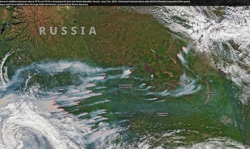 Greenpeace: Rok 2021 rekordowy pod względem pożarów lasów w Rosji