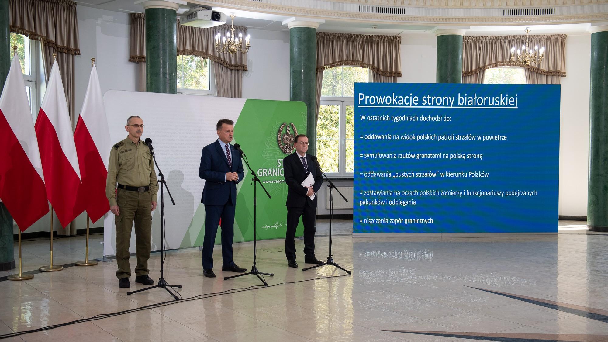 Łukaszenka o katastrofie humanitarnej, MSW i MON o szturmujących granicę
