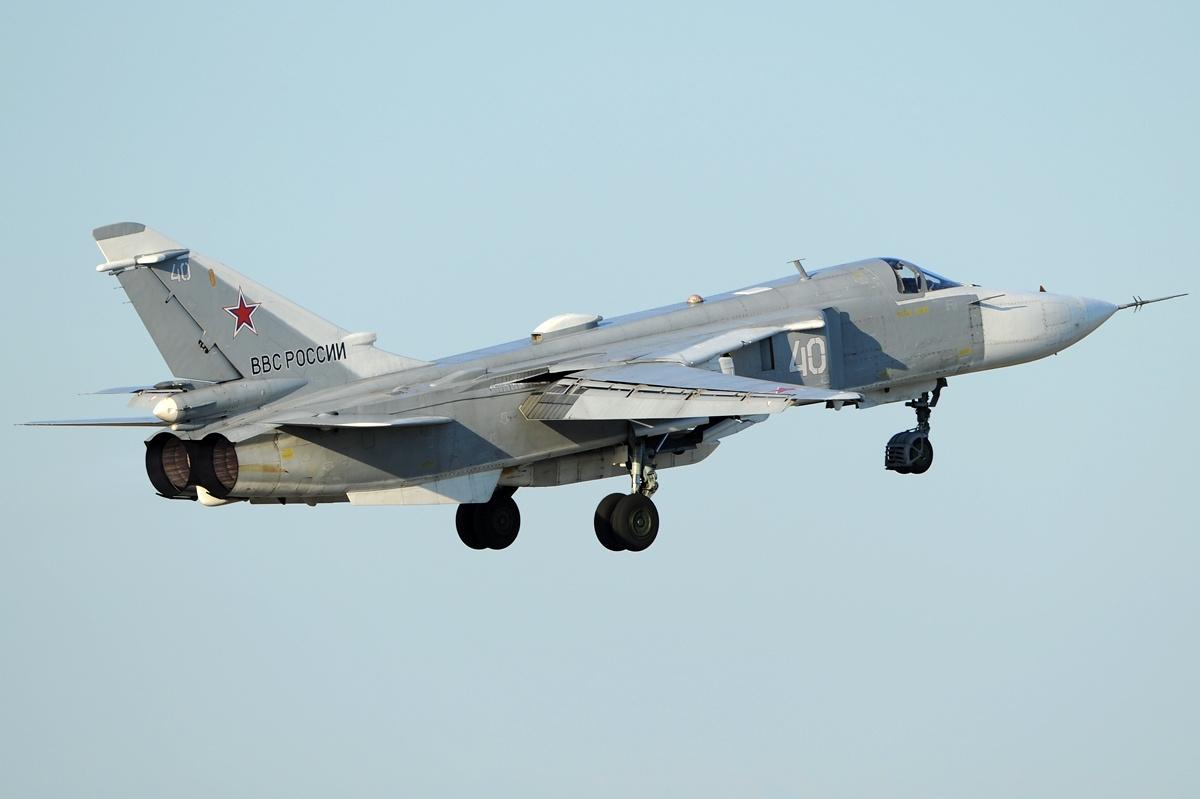Rosyjskie samoloty wleciały do zakazanej strefy ćwiczeń Sił Zbrojnych Ukrainy