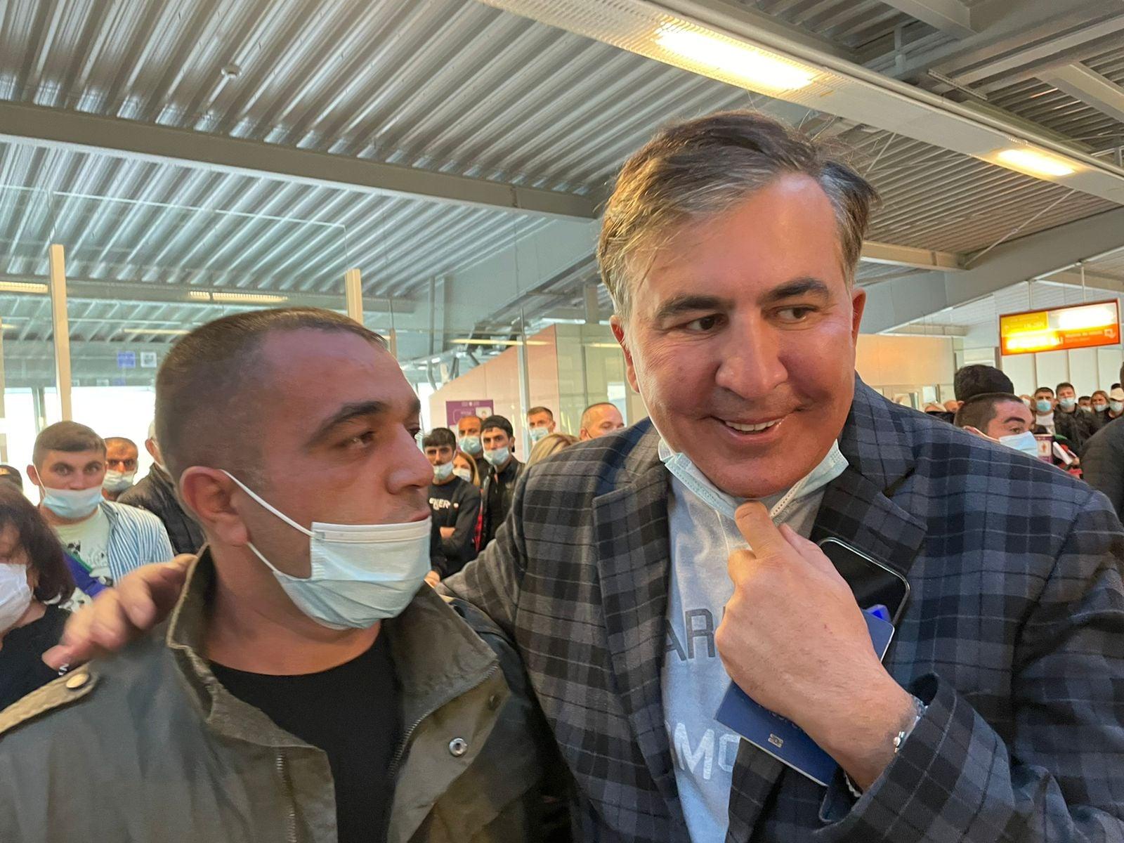 Saakaszwili aresztowany w Gruzji