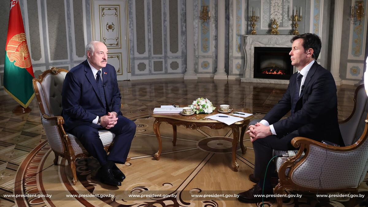 Łukaszenka udzielił wywiadu CNN. Fragmenty