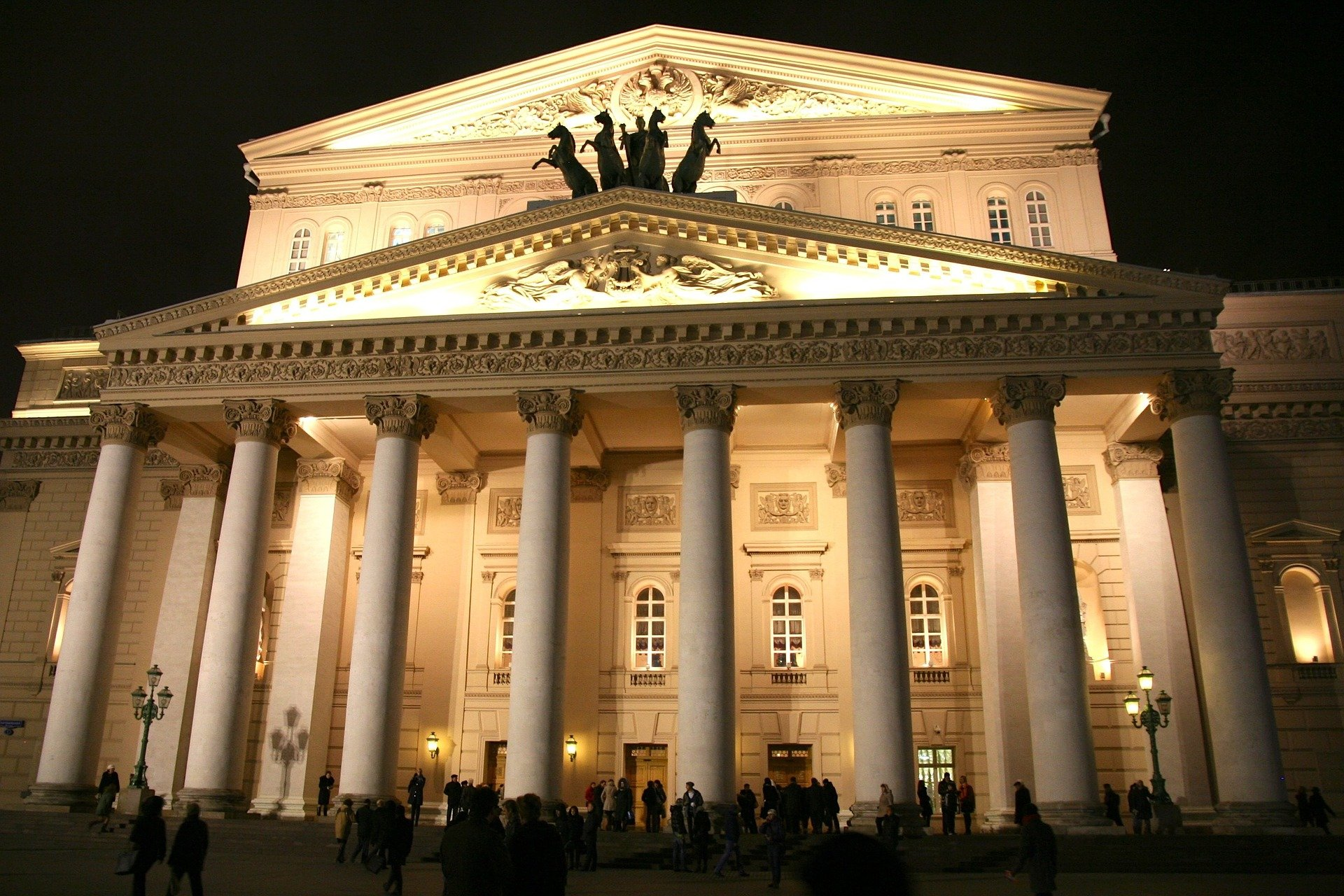 Śmierć artysty podczas opery w teatrze Bolszoj w Moskwie